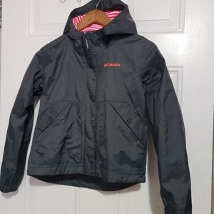 Columbia girls 10 windbreaker size Medium